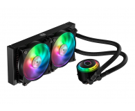 Cooler Master MasterLiquid ML240R RGB 2x120mm - 438147 - zdjęcie 2