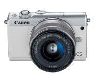 Canon EOS M100 EF-M 15-45mm IS STM biały + Irista 50GB - 440426 - zdjęcie 1