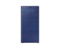 Samsung LED View Cover do Note 9 niebieskie  - 441247 - zdjęcie 2