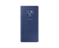 Samsung LED View Cover do Note 9 niebieskie  - 441247 - zdjęcie 3