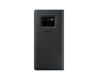 Samsung Leather View Cover do Note 9 czarne - 441253 - zdjęcie 3