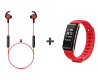 Huawei AM61 Sport Bluetooth Czerwone + Band A2 czerwony - 443804 - zdjęcie 1
