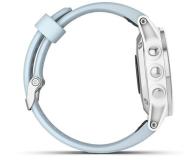 Garmin Fenix 5S Plus Biały z Błękitnym Paskiem - 436600 - zdjęcie 4