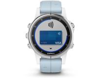 Garmin Fenix 5S Plus Biały z Błękitnym Paskiem - 436600 - zdjęcie 6