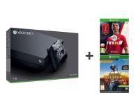 Microsoft Xbox One X 1TB + Fifa 18 + PUBG - 442271 - zdjęcie 1