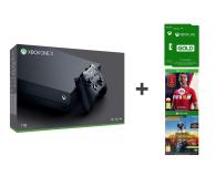 Microsoft Xbox One X 1TB + Fifa 18 + PUBG + GOLD 6M - 442278 - zdjęcie 1