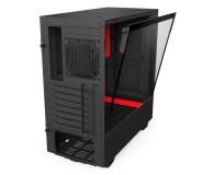 NZXT H500 matowa czarna/czerwona - 442362 - zdjęcie 6