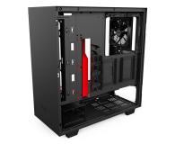 NZXT H500 matowa czarna/czerwona - 442362 - zdjęcie 9