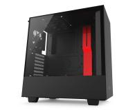NZXT H500 matowa czarna/czerwona - 442362 - zdjęcie 2