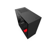 NZXT H500 matowa czarna/czerwona - 442362 - zdjęcie 1