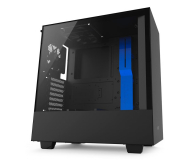 NZXT H500 matowa czarna/niebieska - 442360 - zdjęcie 2