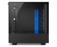 NZXT H500 matowa czarna/niebieska - 442360 - zdjęcie 5