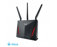 ASUS RT-AC86U (2900Mb/s a/b/g/n/ac, 2xUSB 3G/4G, QAM) - 381671 - zdjęcie 1