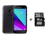 Samsung Galaxy Xcover 4 G390F Dark Silver + 16GB - 446381 - zdjęcie 1