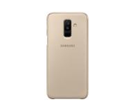 Samsung Wallet Cover do Samsung Galaxy A6+ złoty - 444720 - zdjęcie 4