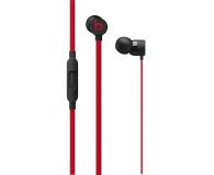 Apple urBeats3 ze złaczem jack 3.5mm czarno - czerwone  - 446905 - zdjęcie 1