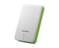 ADATA Power Bank P16750 16750 mAh 2.1A(biało-zielony) - 447424 - zdjęcie 1