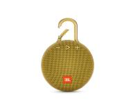 JBL Clip 3 Żółty - 442535 - zdjęcie 2