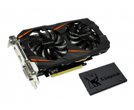 Gigabyte GeForce GTX 1060 WF2 OC 6GB + Kingston 240GB A400 - 443199 - zdjęcie 1