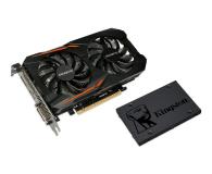 Gigabyte GeForce GTX 1050 TI OC 4GB + Kingston 120GB A400  - 443221 - zdjęcie 1