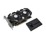 MSI GeForce GTX 1050 TI OC 4GB + Kingston 120GB A400 - 443223 - zdjęcie 1