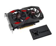 ASUS GeForce GTX 1050 TI OC 4GB + Kingston 120GB A400 - 443220 - zdjęcie 1