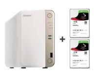QNAP TS-251B-2G 6TB (2xHDD, 2x2-2.5GHz, 2GB, 5xUSB) - 449157 - zdjęcie 1