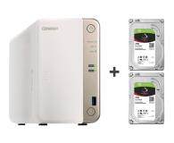 QNAP TS-251B-2G 8TB (2xHDD, 2x2-2.5GHz, 2GB, 5xUSB) - 449159 - zdjęcie 1