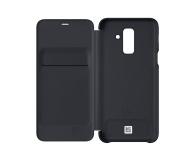 Samsung Wallet Cover do Samsung Galaxy A6+ czarny - 431299 - zdjęcie 1