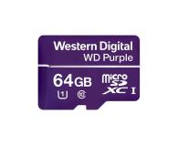WD 64GB Purple microSD XC Class 10 UHS 1 - 448749 - zdjęcie 1