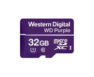 WD 32GB Purple microSD XC Class 10 UHS 1 - 448745 - zdjęcie 1