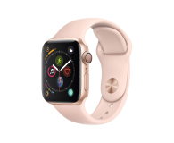Apple Watch 4 40/Gold Aluminium/Pink Sport GPS  - 448660 - zdjęcie 1
