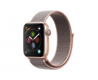 Apple Watch 4 40/Gold Aluminium/Pink Sport Lo GPS  - 449524 - zdjęcie 1