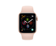 Apple Watch 4 40/Gold Aluminium/Pink Sport GPS  - 448660 - zdjęcie 2