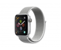 Apple Watch 4 40/Silver Aluminium/Seashell GPS  - 448661 - zdjęcie 1