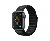 Apple Watch 4 40/Space Gray/Black Sport Lo GPS  - 449525 - zdjęcie 1
