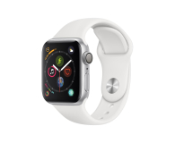 Apple Watch 4 40/Silver Aluminium/White Sport GPS  - 448662 - zdjęcie 1