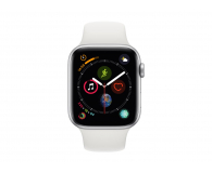 Apple Watch 4 44/Silver Aluminium/White Sport GPS  - 448665 - zdjęcie 2
