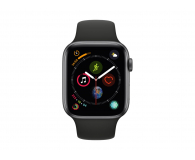 Apple Watch 4 44/Space Gray/Black Sport GPS  - 449523 - zdjęcie 2