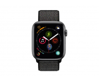 Apple Watch 4 44/SpaceGray Aluminium/Black Sport Lo GPS - 448666 - zdjęcie 2
