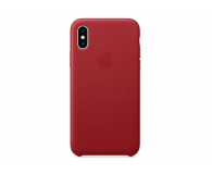 Apple iPhone XS Leather Case Product Red  - 449548 - zdjęcie 3