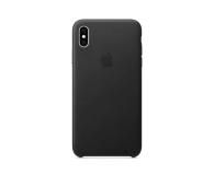 Apple iPhone XS Max Leather Case Black - 449557 - zdjęcie 3