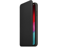 Apple iPhone XS Max Leather Folio Black - 449572 - zdjęcie 1