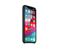 Apple iPhone XS Leather Case Black - 449551 - zdjęcie 2
