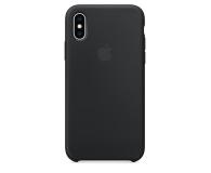 Apple iPhone XS Silicone Case Black - 449537 - zdjęcie 3