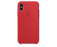 Apple iPhone XS Silicone Case Product Red - 449540 - zdjęcie 3