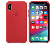 Apple iPhone XS Silicone Case Product Red - 449540 - zdjęcie 1