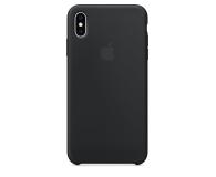 Apple iPhone XS Max Silicone Case Black - 449542 - zdjęcie 3