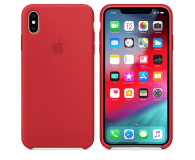 Apple iPhone XS Max Silicone Case Product Red  - 449545 - zdjęcie 1