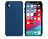 Apple iPhone XS Max Silicone Case Blue Horizon - 449601 - zdjęcie 1